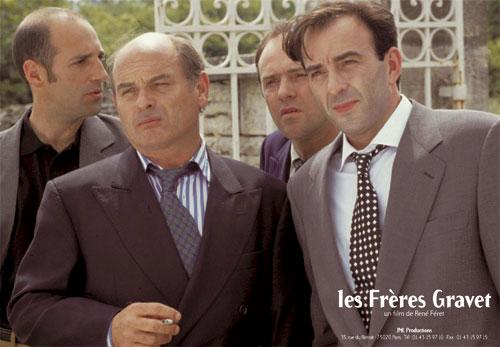 Les frères Gravet - Jean-François Stévenin, Jacques Bonnafé, Robin Renucci